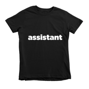 Kid's Photographer's Assistant Shirt